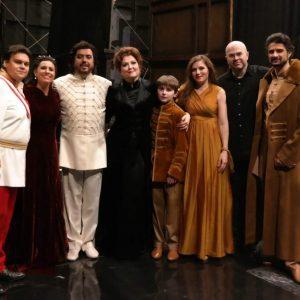 Hunyadi László: Szilágyi Erzsébet (2016, Budapest) - The Cast