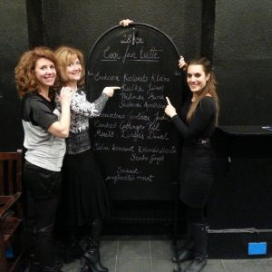 2015, Budapest - Apollónia Szolnoki, Anna Pálmai